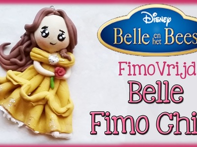 POLYMER CLAY BELLE FROM BEAUTY AND THE BEASt PRINSESS FIMO VRIJDAG
