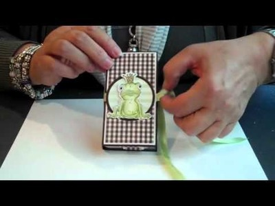 Choco cadeaudoosje - scrapbooking gift