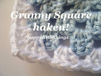 Crochet granny square haken beginners