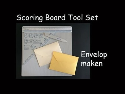 Envelop met Scoring Board Tool Set