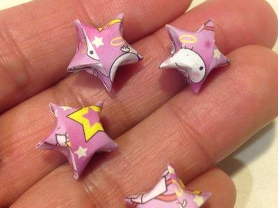 Fun: Origami Lucky Star vouwen!
