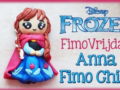 POLYMER CLAY ANNA FROM FROZEN PRINSESS FIMO VRIJDAG | Door CRAFTMAMA