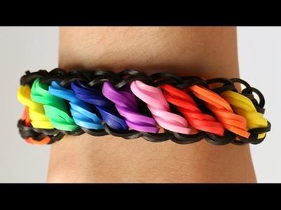 Loom Bands Nederlands - Rotini tutorial - Rainbow Loom || how to, tutorial, loom bands