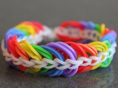 Rainbow Loom Nederlands, triple link chain, armband