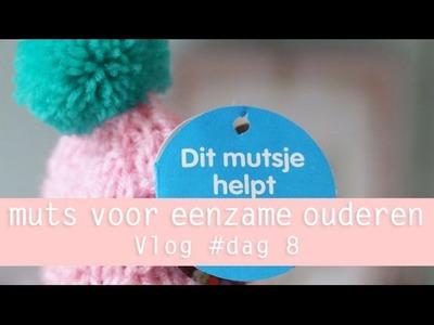 Muts helpt Eenzame Ouderen VLOG day 8 100 days of yarn bombing