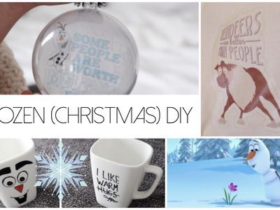❄ FROZEN (CHRISTMAS) DIY'S  ❄