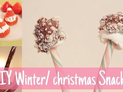 3x DIY Winter. Christmas snacks!