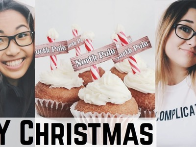 DIY EASY CHRISTMAS SNACKS   SABRINA PUTRI COLLAB