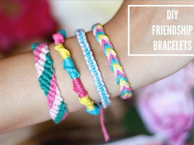 DIY Easy Friendship Bracelets