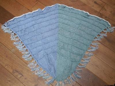 Tutorial breiring: omslagdoek Deel 1. knitting loom scarf
