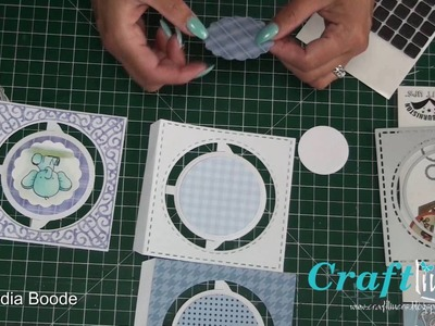 Elizabeth Craft Design Accordion kaart