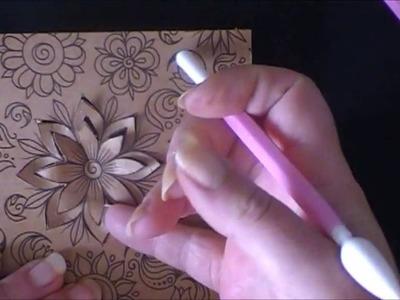 Tip voor 3D effect op craft of designpapier