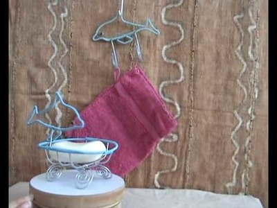 CraftRootz - Dolphin Hook & Soapdish gift set