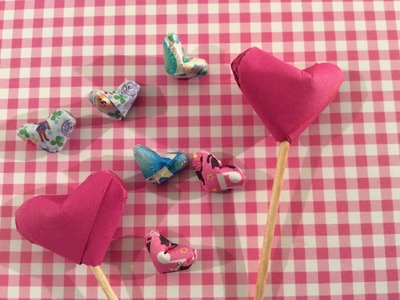 DIY: Origami Lucky Hearts vouwen