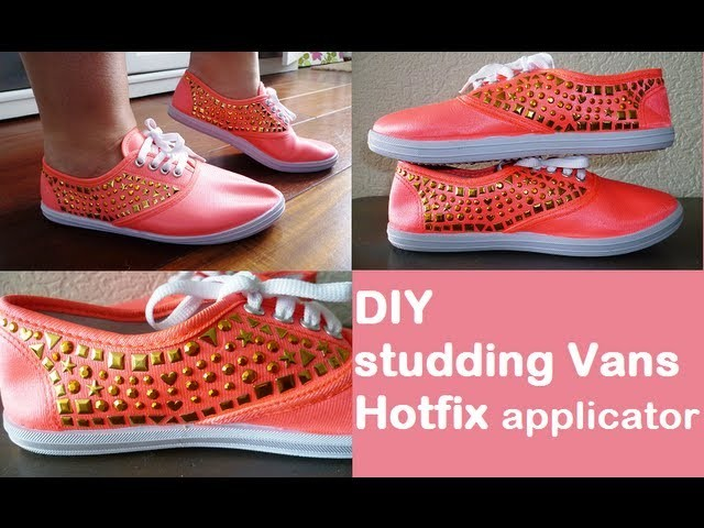 DIY studding vans hotfix applicator