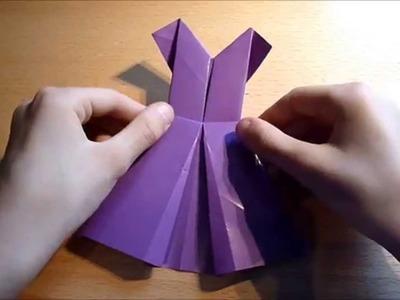 """""""Hoe maak je een Origami Jurkje"""" [Origamia]"""