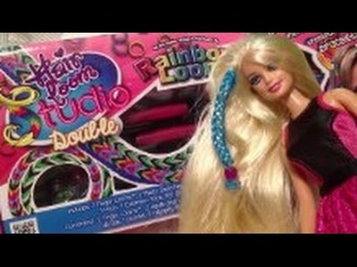 Rainbow Loom Hair Loom Studio Unboxing, review en Tutorial