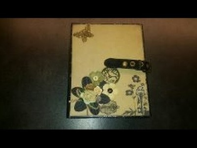 Scrapbook Mini album engraver