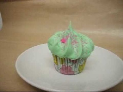 The Secret Garden - making a Bath Cupcake
