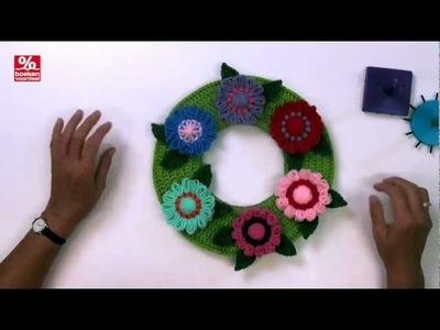 Bloemenkrans maken met de Bloem makers
