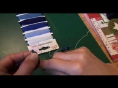 Chipboard letters versieren deel 1