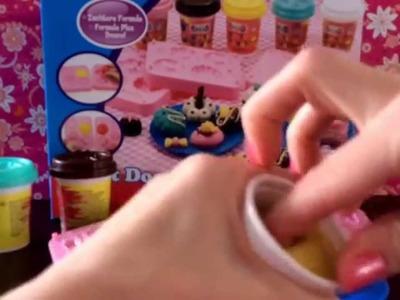 Craft dough toetjes maken van klei