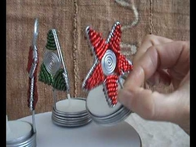 CraftRootz - Christmas Tealight Candle Holder gift set