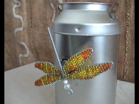 CraftRootz - Dragonfly fridge magnet