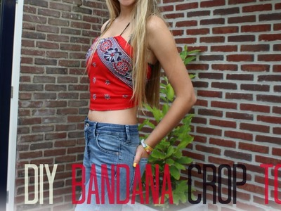 DIY Bandana crop top ♥ MADEBYNoelle