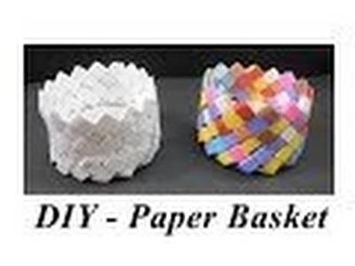 DIY - De manier om Paper Basket maken