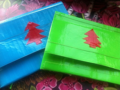 DIY Duck Tape Lastminute Christmas Gift Ideas