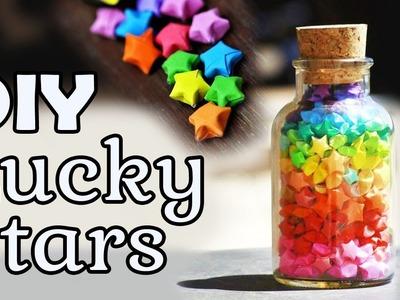 DIY Lucky Origami Stars | Onzin of Zinnig