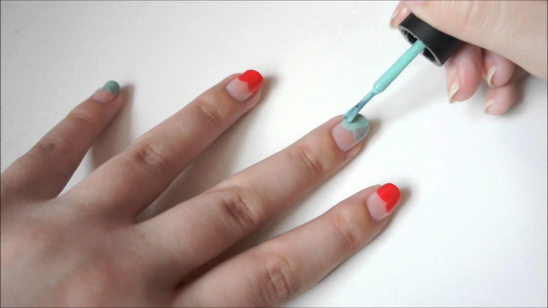 DIY Nail Art Tutorial: Apple Nail Art