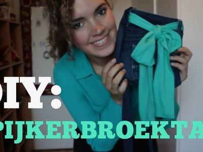 DIY Nederlands: van spijkerbroek naar tas! - DIYNederland