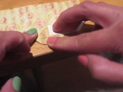 DIY: Origami Hartjes Boekenlegger