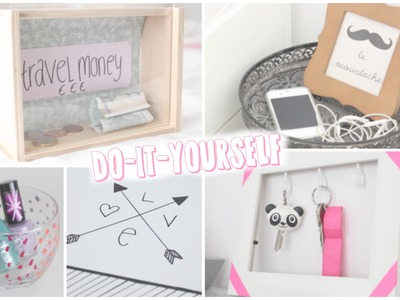 "DIY: ""Piggybank"", Nightstand & more !"