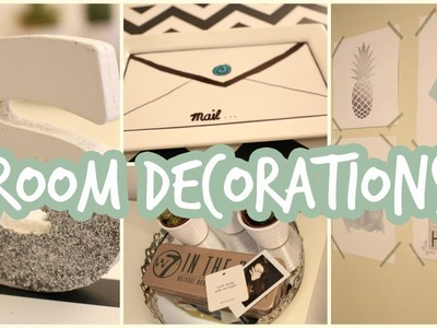 DIY ROOM DECORATIONS !