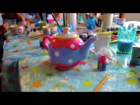 DIY.Tutorial servies beschilderen