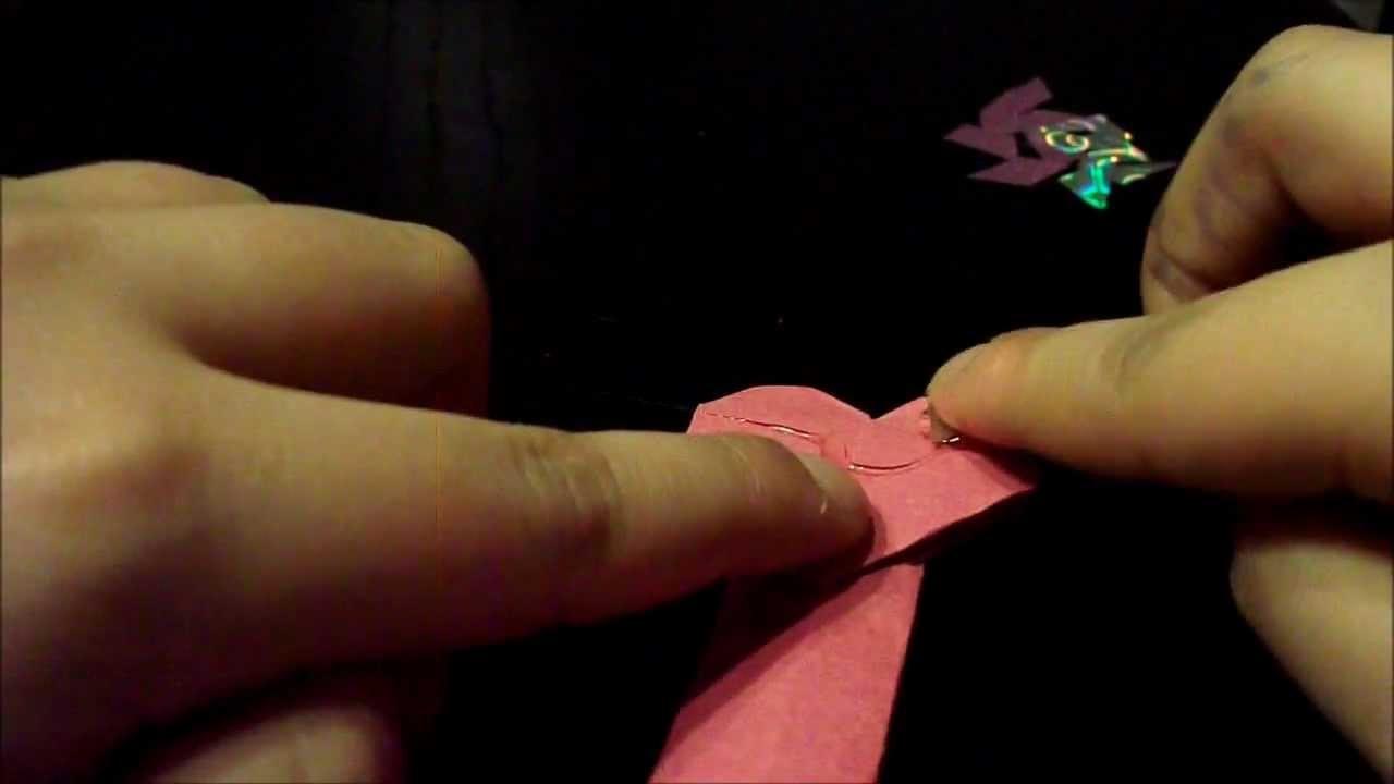 Origami boekenlegger-polinsart