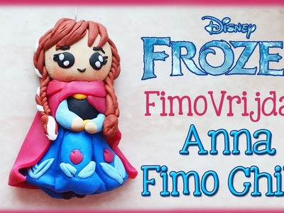 POLYMER CLAY ANNA FROM FROZEN PRINSESS FIMO VRIJDAG | Door CRAFTMAMA
