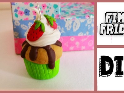 Polymer Clay Whipped Cream Cupcake Tutorial - Fimo Friday #14