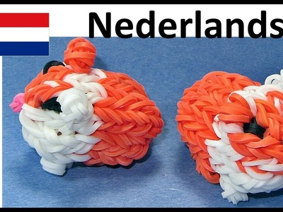 Rainbow Loom Nederlands Cavia - Eveline Maureen + DIY Mommy loom. bands