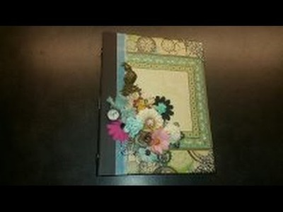 Scrapbook mini album Happy Paris