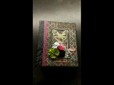 Scrapbook mini album Imagine You