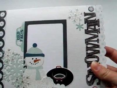Scrapbook Snowman Winterpark