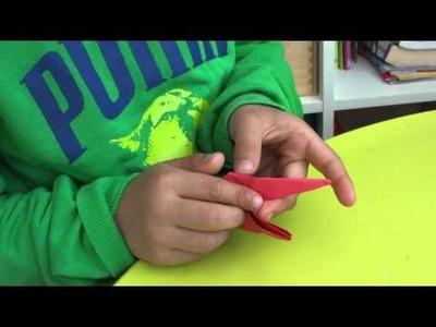 Tutorial origami : schildpad
