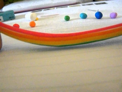 Tutorial: Polymer Clay Regenboog lolly