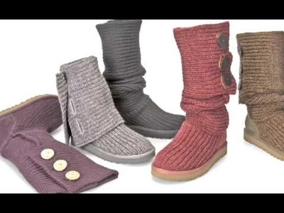 Www.uggs.nl present: UGGS Knit Collection Najaar 2009