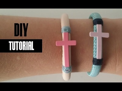 Armband Maken van Imitatie Suède en Leer