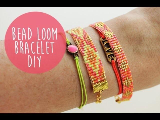 DIY Bead Loom Bracelet